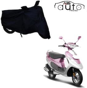 ABS AUTO TREND Bike Body Cover For  TVS Scooty Pep Plus ( Black )