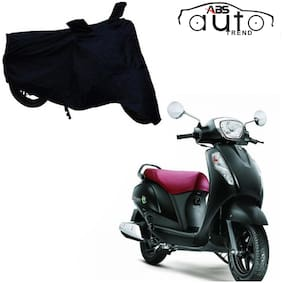 ABS AUTO TREND Bike Body Cover For  Suzuki Access 125 ( Black )