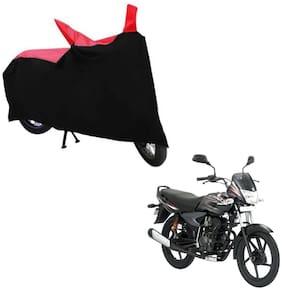 ABS AUTO TREND Bike Body Cover For Bajaj Platina Comfertec ( Black, Red )