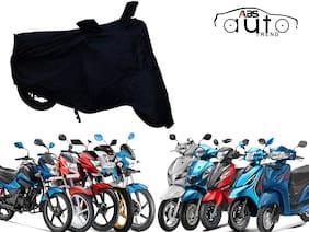 ABS AUTO TREND Bike Body Cover For Universal ( Upto 150CC, Black )