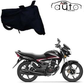 ABS AUTO TREND Bike Body Cover For  Honda Cb Shine ( Black )
