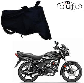 ABS AUTO TREND Bike Body Cover For  Hero Passion X Pro ( Black )