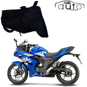 ABS AUTO TREND Bike Body Cover For  Suzuki Gixxer Sf ( Black )