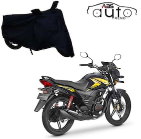 ABS AUTO TREND Bike Body Cover For  Honda Cb Shine Sp ( Black )
