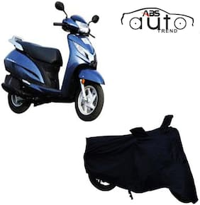 ABS AUTO TREND Bike Body Cover For  Honda Activa 4G ( Black )