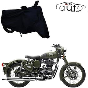 ABS AUTO TREND Bike Body Cover For  Royal Enfield Classic 350 ( Black )