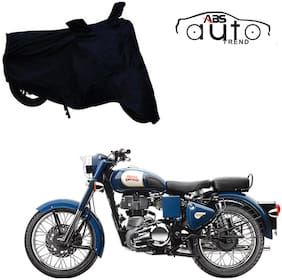ABS AUTO TREND Bike Body Cover For  Royal Enfield Bullet 350 ( Black )