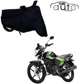 ABS AUTO TREND Bike Body Cover For  Yamaha Saluto ( Black )