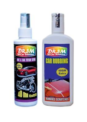 BIKE & CAR TEFLON COTING 100ml.(40mL. EXTRA)+ CAR RUBBING 200 g+(60 g EXTRA).
