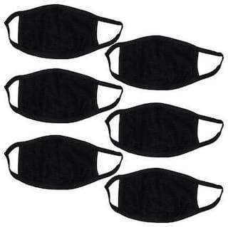 Bike Face Mask & Anti Pollucation mask for Boys & Girls pack of 6