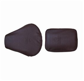 Bike Seat Cover For Royal Enfield Classic-Dark Brown