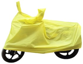 Bikenwear Body Cover-(Yellow) for Hero Passion Pro, Pro TR & XPRO