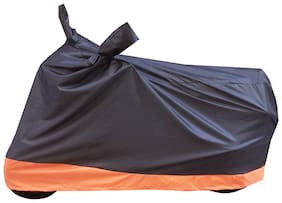 Bikenwear Body Cover-(Black-Orange) for Yamaha FZ & FZ-S