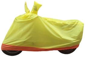 Bikenwear Body Cover-(Yellow-Orange) for TVS Sport
