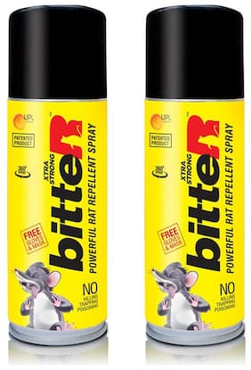 Bitter Powerful Rat Repellent Spray ( Pack Of 2 )