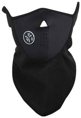 Black Bike Face Mask for Men & Women