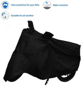 Black Quality Water Resistant/Dustproof Bike Cover For Softail Fat Boy