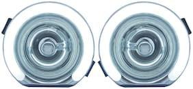 Blackcat Bolero Fog lamp with DRL (Set of 2) With Wiring Harness & Switch;High Power LED