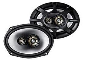 Blaupunkt Car 15.24 cm (6 inch) x 22.86 cm (9 inch) 3-Way Triaxial Oval Speakers-GTx 693 HP