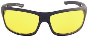 Blue Tuff Bike/Bicycle/Car Night Vision Driving Sunglass Goggels -703-ylw