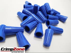 Blue Wire Connector - 22-14 AWG - 25 PCS