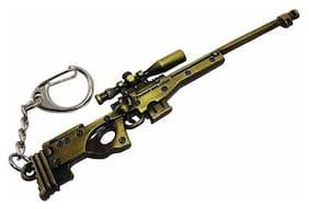 Bluegill PUBG Gun's Metal Key Chain for Car/Bike/Locker Key Chain (Pack of 1)