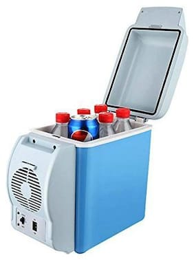 Bolt Mini Car Refrigerator Cooler and Wamer 7.5 L For travelling Car Used