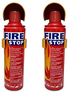 BTK Trade Fire Extinguisher/ Fire Stop For Car/ Office/ home/ Etc. with Stand (Set of 2)