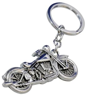 Bullet Key Chain With Silver Metal Finish For Car bd9a8a068866