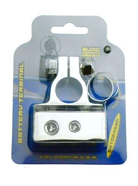 BULLZ AUDIO POSITIVE OR NEGATIVE CAR BATTERY TERMINAL CLAMP 0 | 4 | 8 GAUGE 0G
