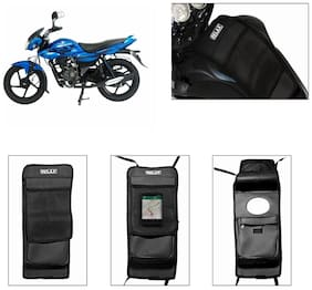 Capeshoppers Utility Tank Bag For Bajaj Xcd 125Cc