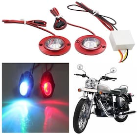 Capeshoppers Strobe Light For Royal Enfield Bullet Electra Standard