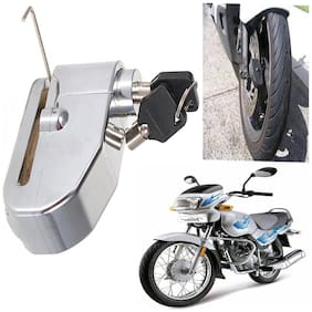 Capeshoppers ALARM LOCK With Siren For Royal Enfield BULLET 455