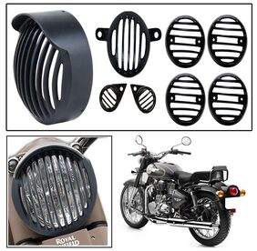 Capeshoppers Customized Cap Head light grill Cover Combo For Twinspark 350