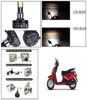 Capeshoppers M2 High Power Led For Suzuki Access 125 SE Scooty