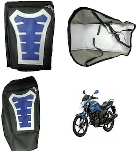 Capeshoppers Utility Big Tank bag Blue For Hero MotoCorp CBZ EX-TREME Double Seater