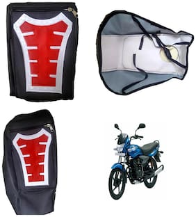 Capeshoppers Utility Big Tank bag Red For Bajaj Platina