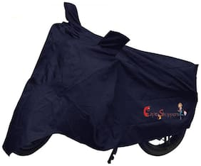 Capeshoppers New Advance Bike Body Cover Blue For Royal Enfield Bullet Electra Standard