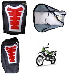 Capeshoppers Utility Big Tank bag Red For Hero MotoCorp Impulse 150