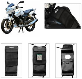 Capeshoppers Utility Tank Bag For Tvs Apache Rtr 180