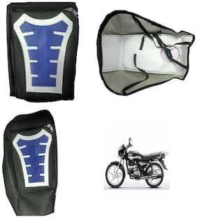 Capeshoppers Utility Big Tank bag Blue For Hero MotoCorp Splendor Pro Classic