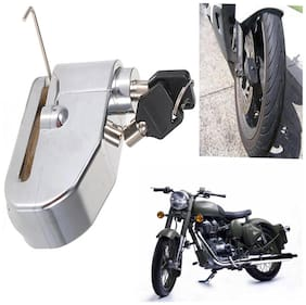 Capeshoppers ALARM LOCK With Siren For Royal Enfield BULLET 496