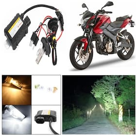 Capeshoppers 6000k Hid Xenon Kit For Bajaj Pulsar 200 Ns