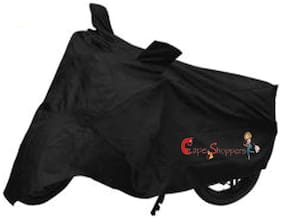 Capeshoppers New Advance Bike Body Cover Black For Yamaha Enticer