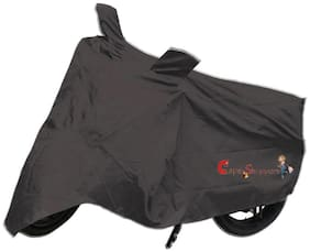 Capeshoppers New Advance Bike Body Cover Grey For Bajaj Discover 100 T Disc
