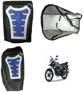 Capeshoppers Utility Big Tank bag Blue For Honda Dream Neo