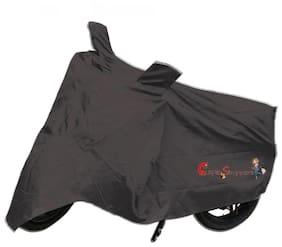 Capeshoppers New Advance Bike Body Cover Grey For Bajaj Avenger 220