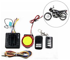 Capeshoppers Yqx Ultra Small Anti-theft Security Device And Alarm For Hero MotoCorp Splendor Plus
