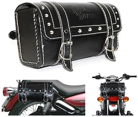 Capeshoppers Royal Enfield Saddle Bag For Royal Enfield Thunderbird 500