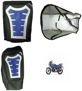 Capeshoppers Utility Big Tank bag Blue For Hero MotoCorp Karizma ZMR 223